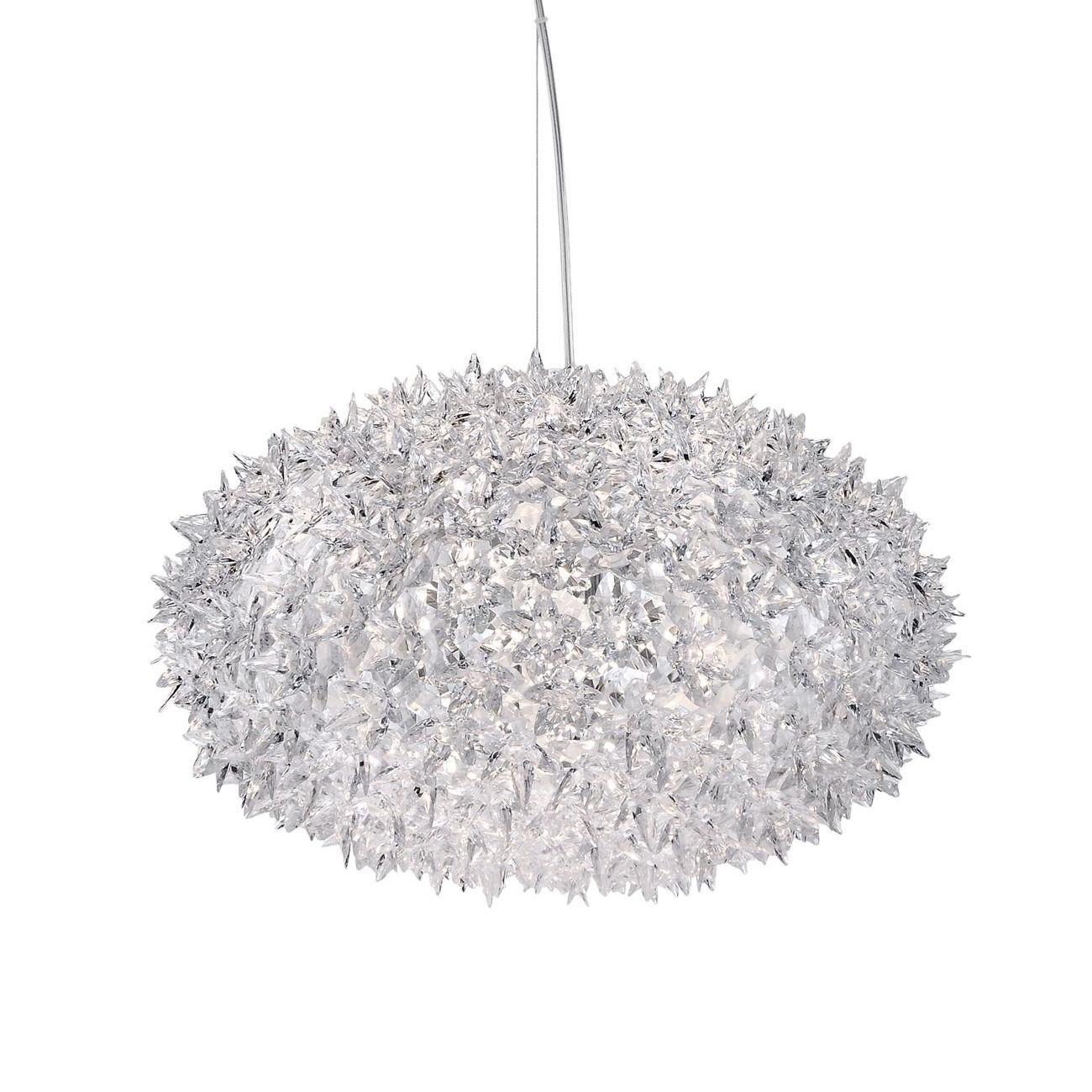 Bloom hanglamp Kartell Ø53 kristal