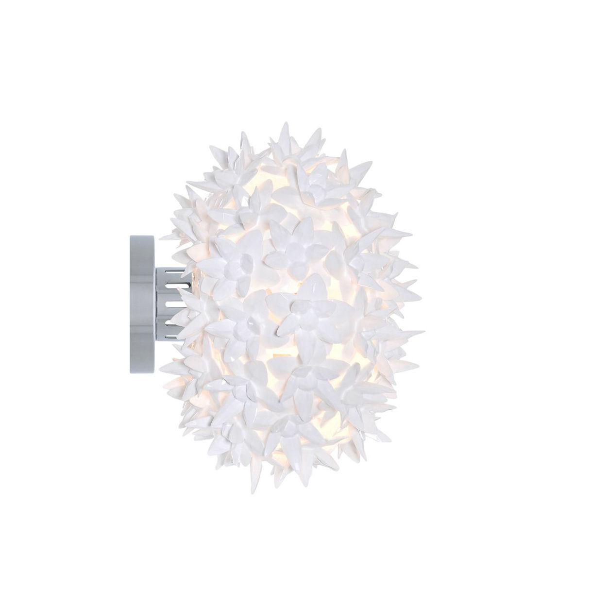Bloom wandlamp Kartell wit