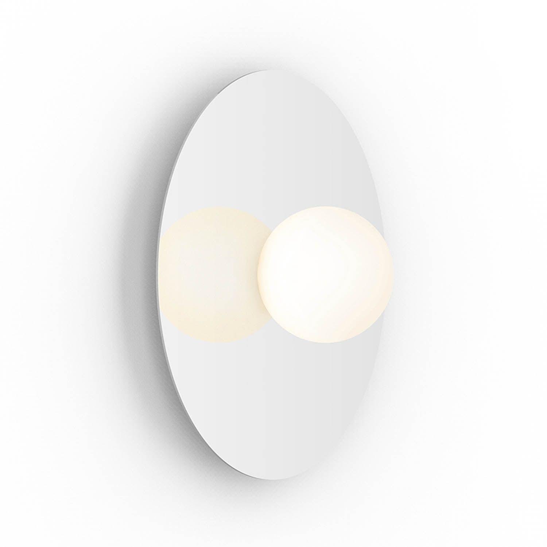 Bola Disc Flush 12 wandlamp Pablo wit