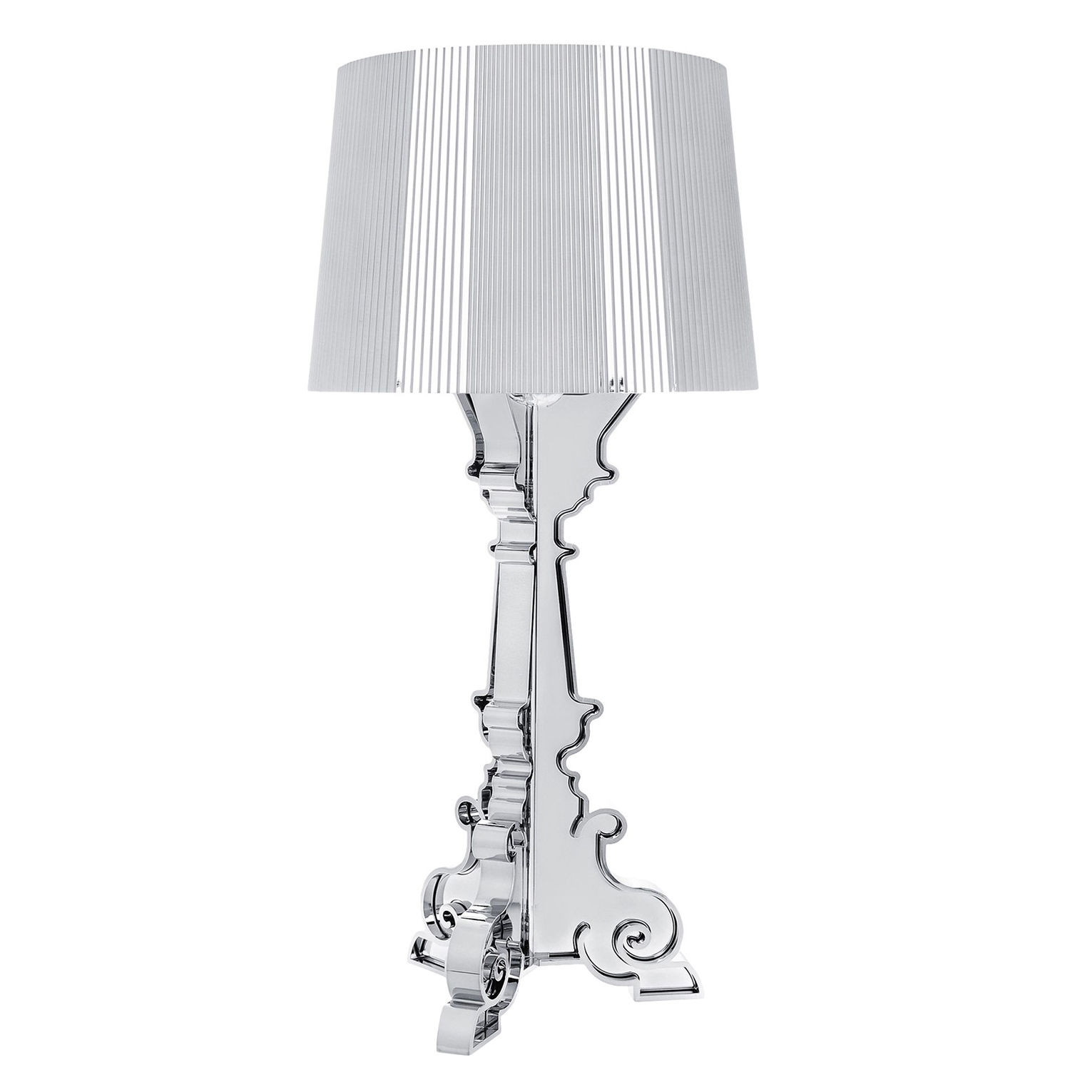 OUTLET - Bourgie tafellamp Kartell chroom