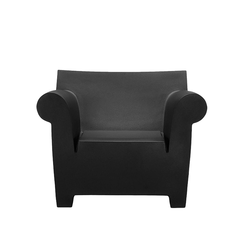 Bubble Club fauteuil Kartell zwart