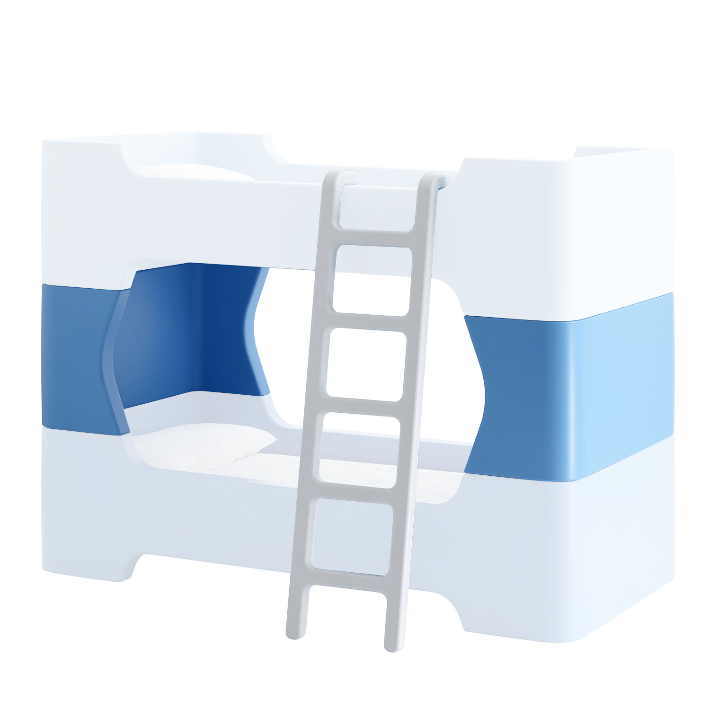 Bunky ladder + middenstuk Magis Me Too blauw