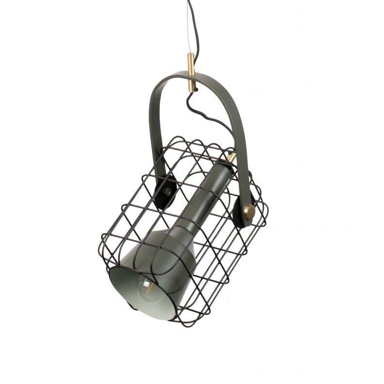 Cage hanglamp Luzo zwart