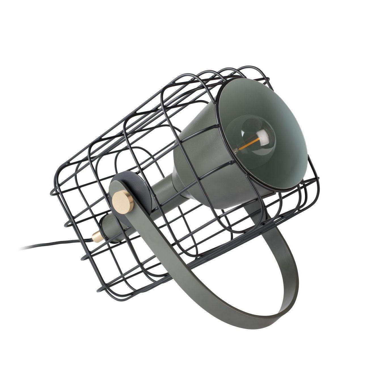 Cage tafellamp Luzo zwart