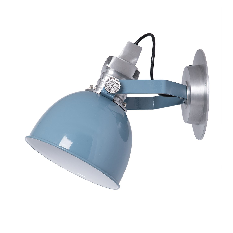 OUTLET - Captain wandlamp Look4Lamps iron blue