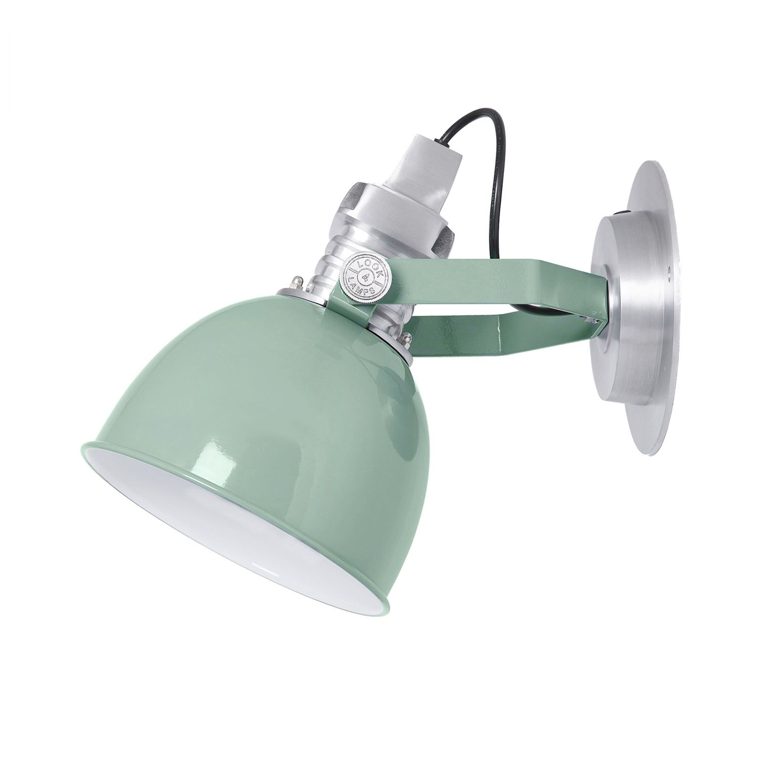 OUTLET - Captain wandlamp Look4Lamps vintage green