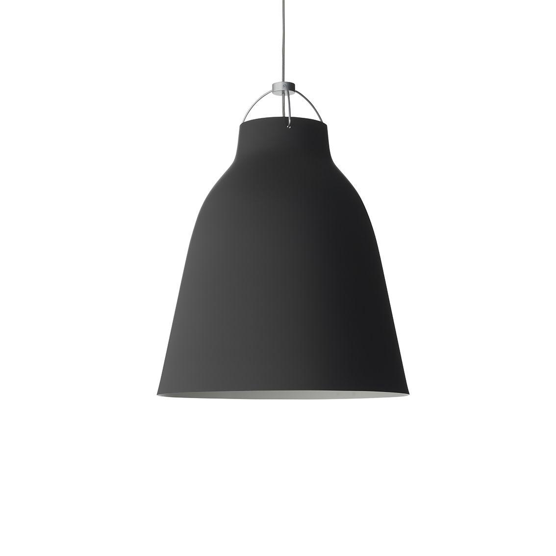 Caravaggio hanglamp Lightyears Ø16 mat zwart