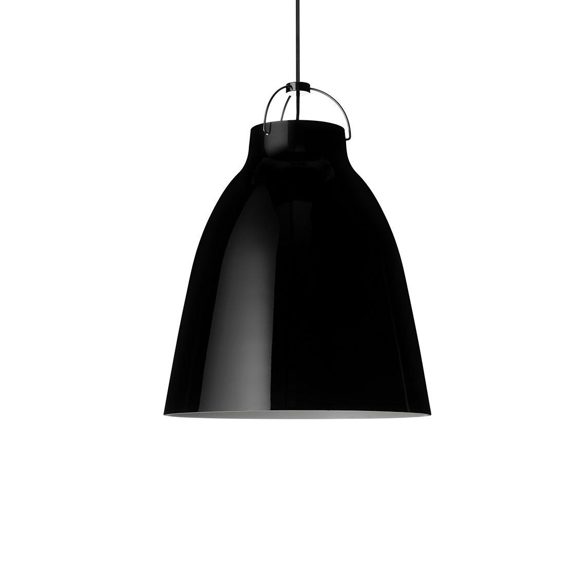 Caravaggio hanglamp Lightyears Ø16 hoogglans zwart