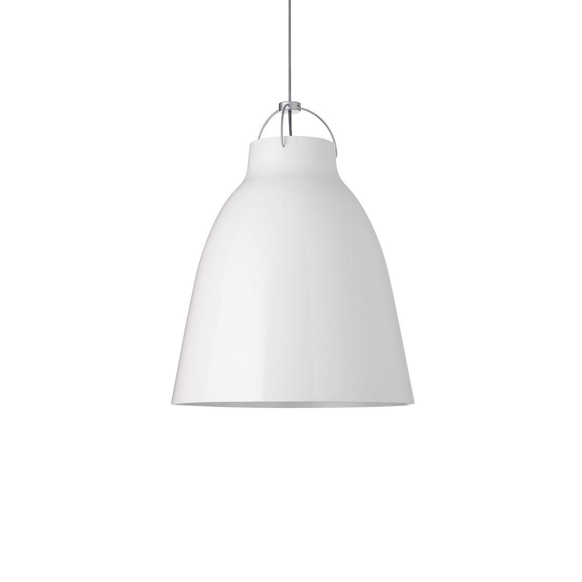 Caravaggio hanglamp Lightyears Ø11 hoogglans wit