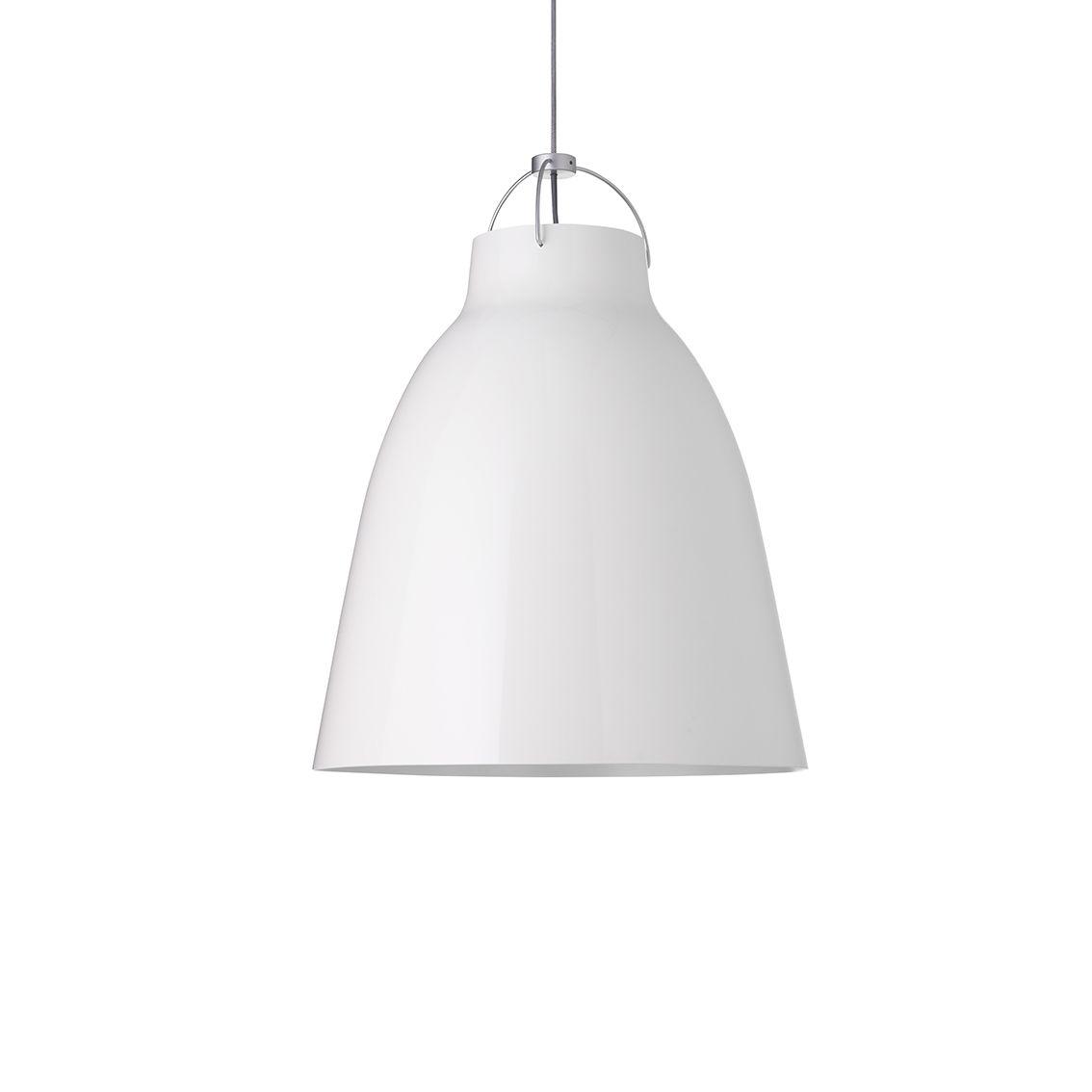 Caravaggio hanglamp Lightyears Ø16 hoogglans wit