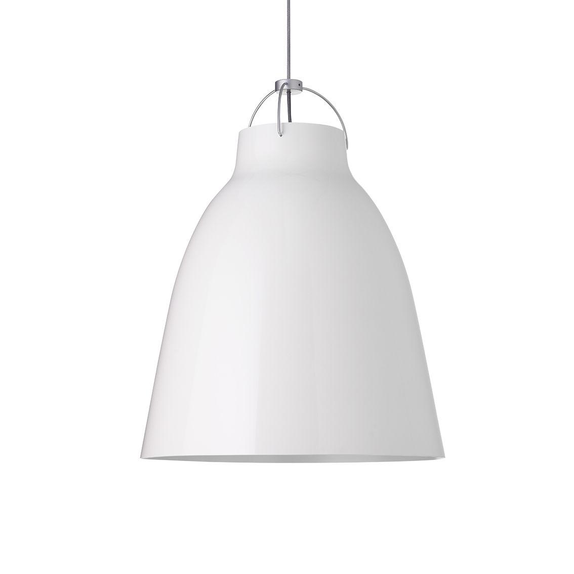 Caravaggio hanglamp Lightyears Ø26 hoogglans wit