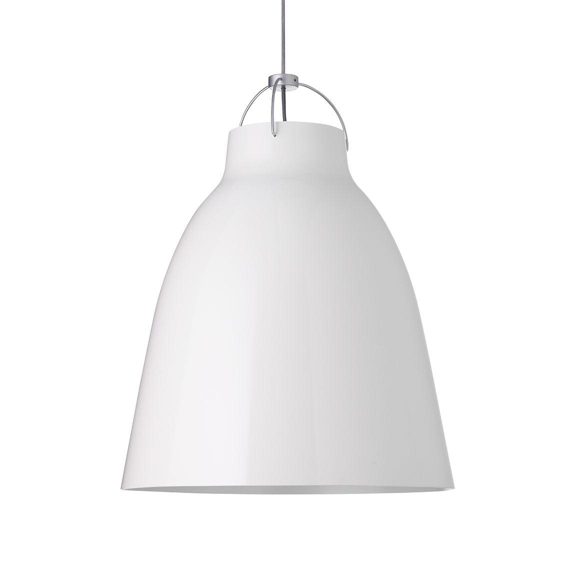 Caravaggio hanglamp Lightyears Ø40 hoogglans wit