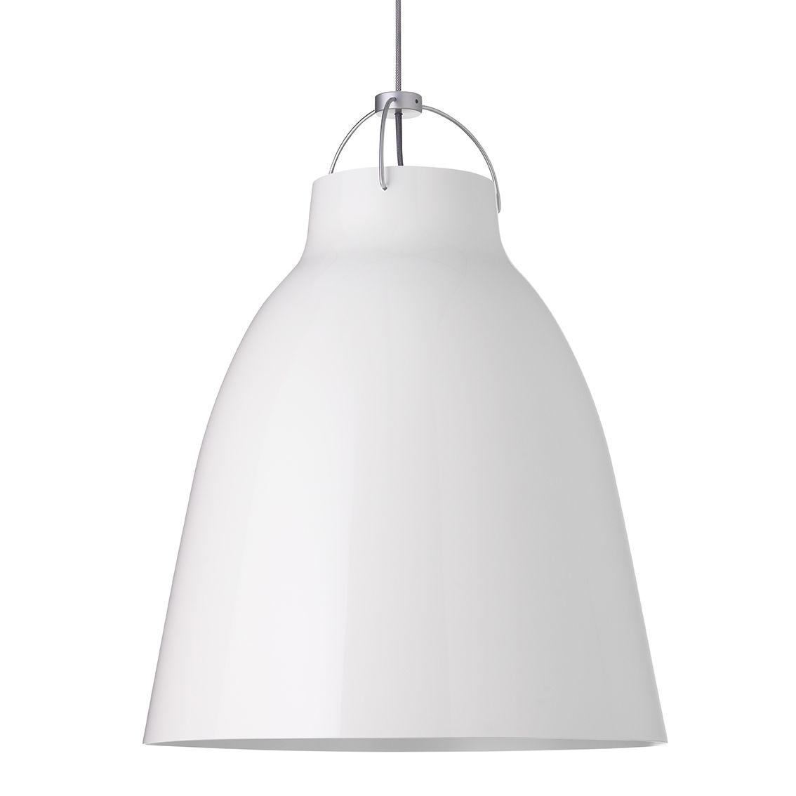 Caravaggio hanglamp Lightyears Ø55 hoogglans wit