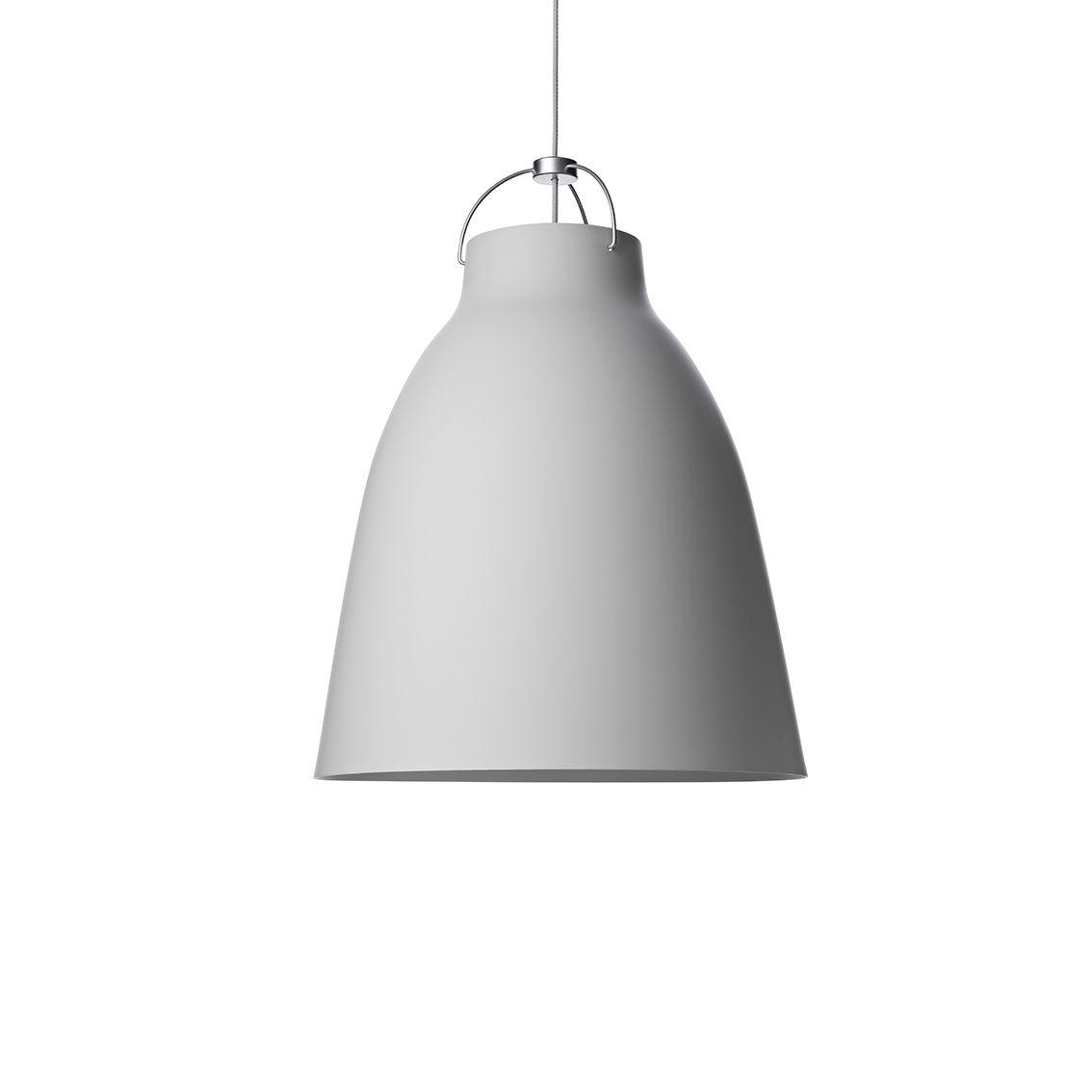 Caravaggio hanglamp Lightyears Ø16 mat grijs 25