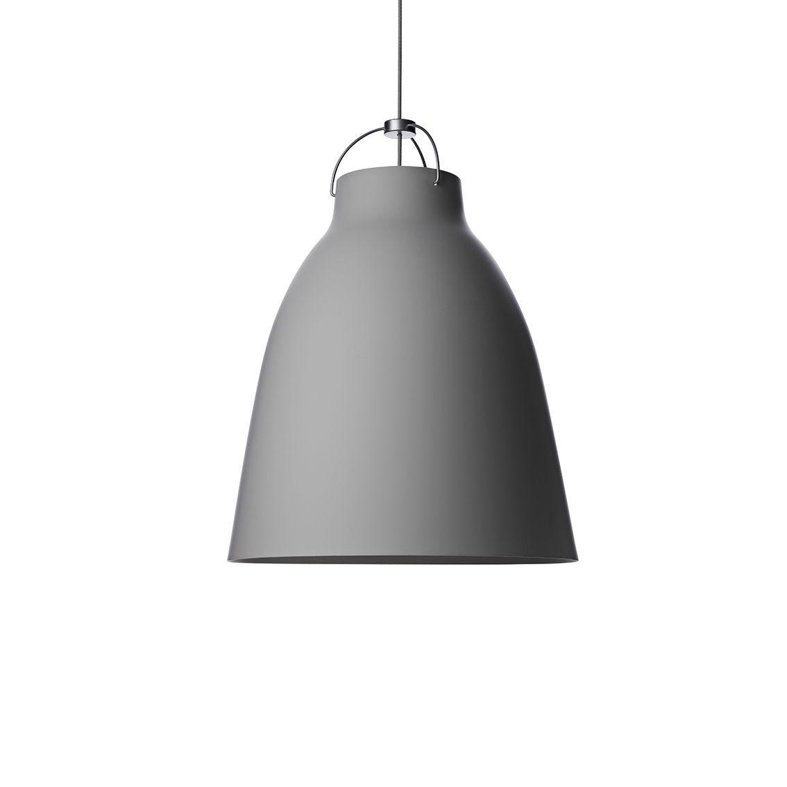 Caravaggio hanglamp Lightyears Ø16 mat grijs 45