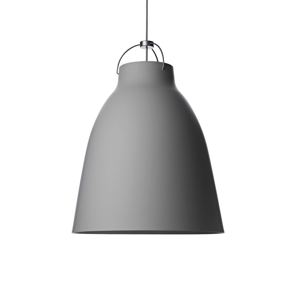 Caravaggio hanglamp Lightyears Ø26 mat grijs 45