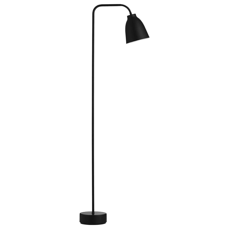 Caravaggio vloerlamp Lightyears zwart