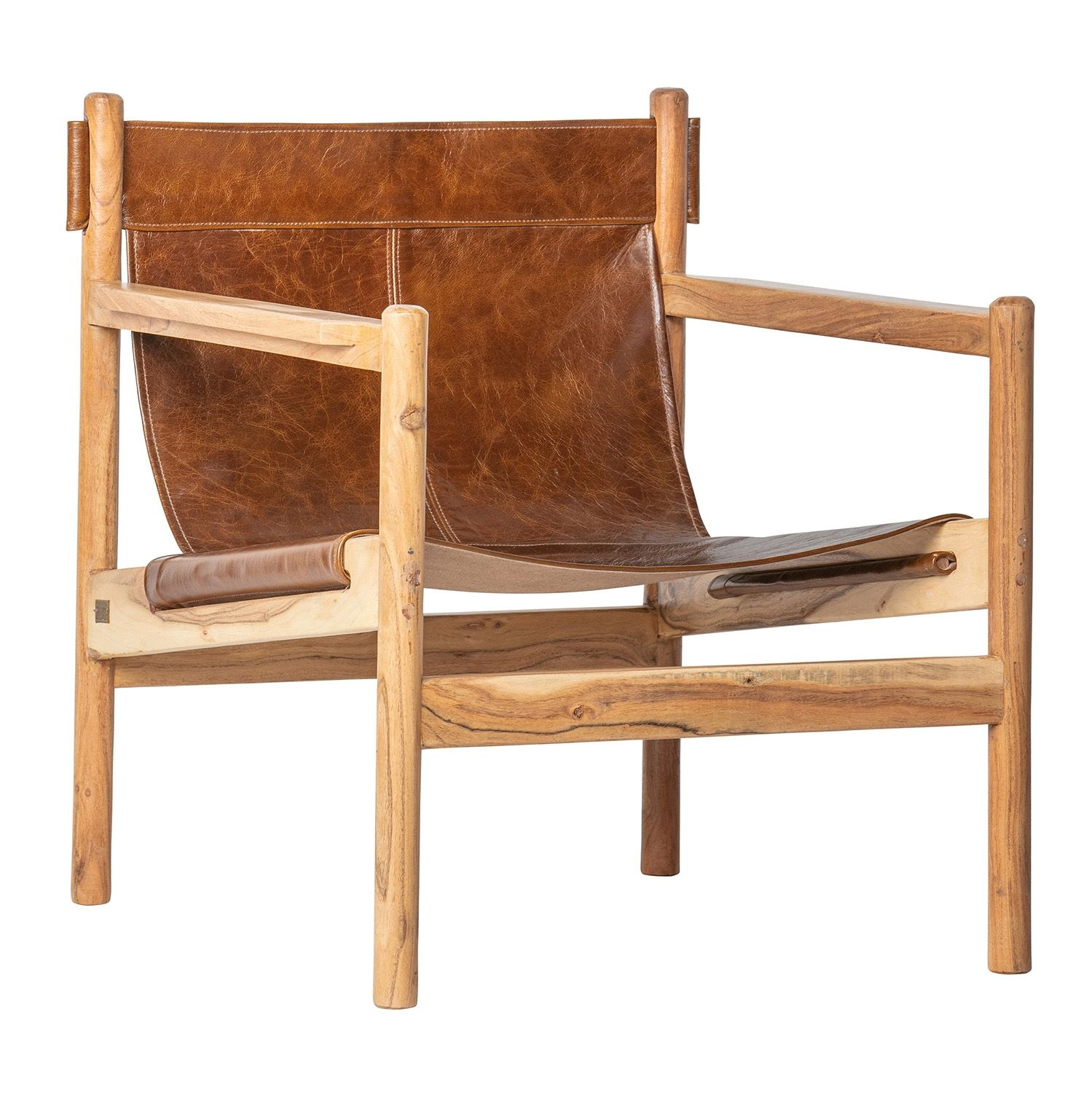 Chill fauteuil BePureHome bruin