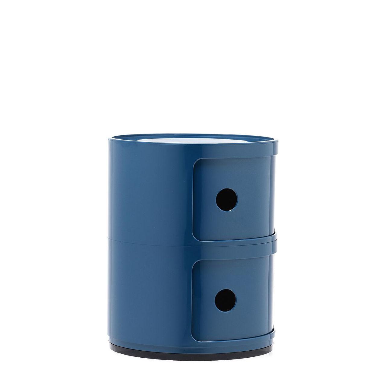 Componibili kast Kartell 2-deurs - blauw
