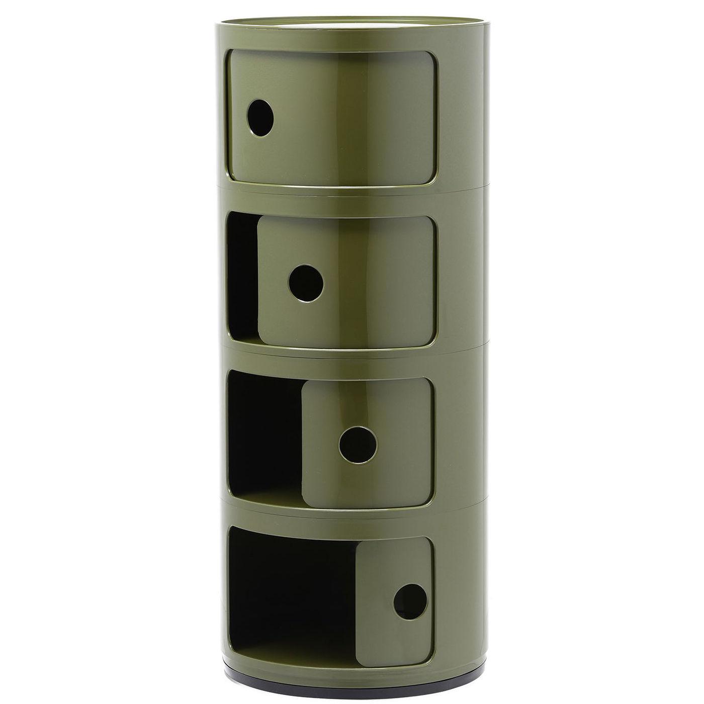Componibili kast Kartell 4-deurs - groen