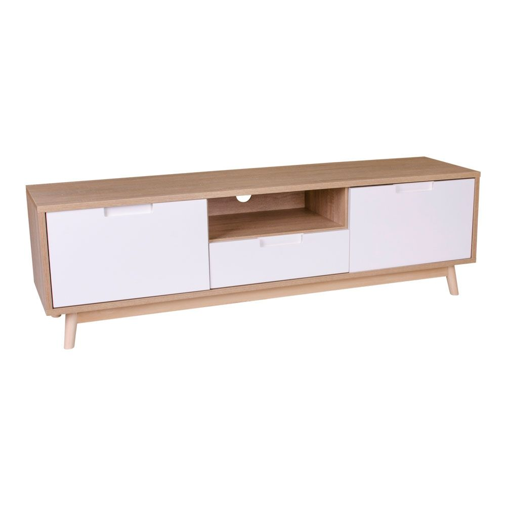 Copenhagen TV meubel House Nordic hout - wit