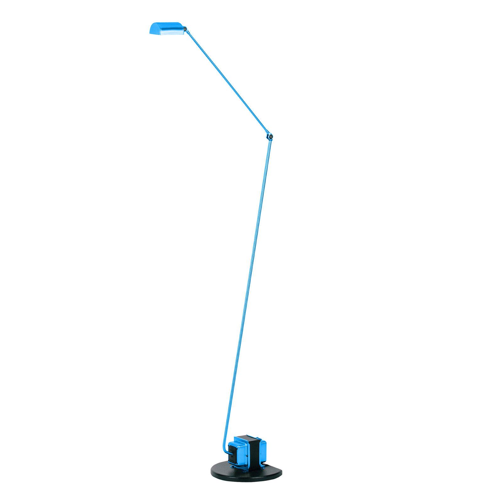 Daphine Terra vloerlamp Lumina LED cyaan