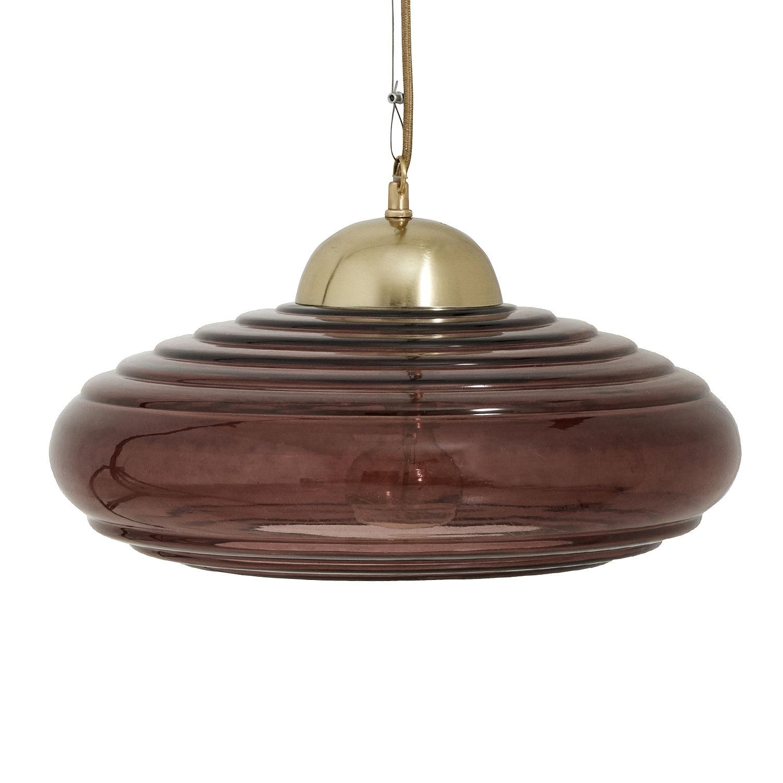 Disc hanglamp Nordal burgundy