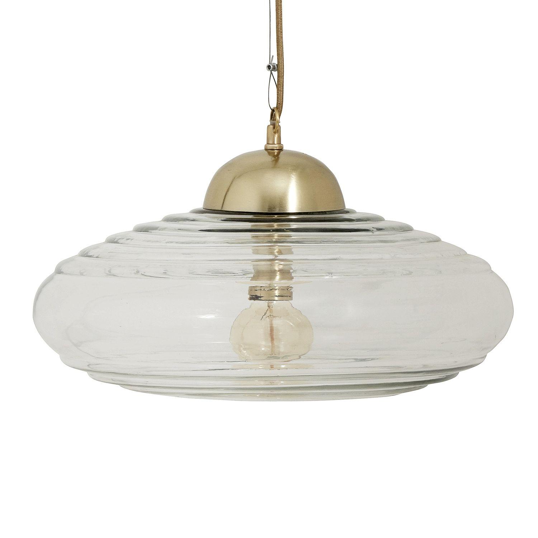 Disc hanglamp Nordal transparant