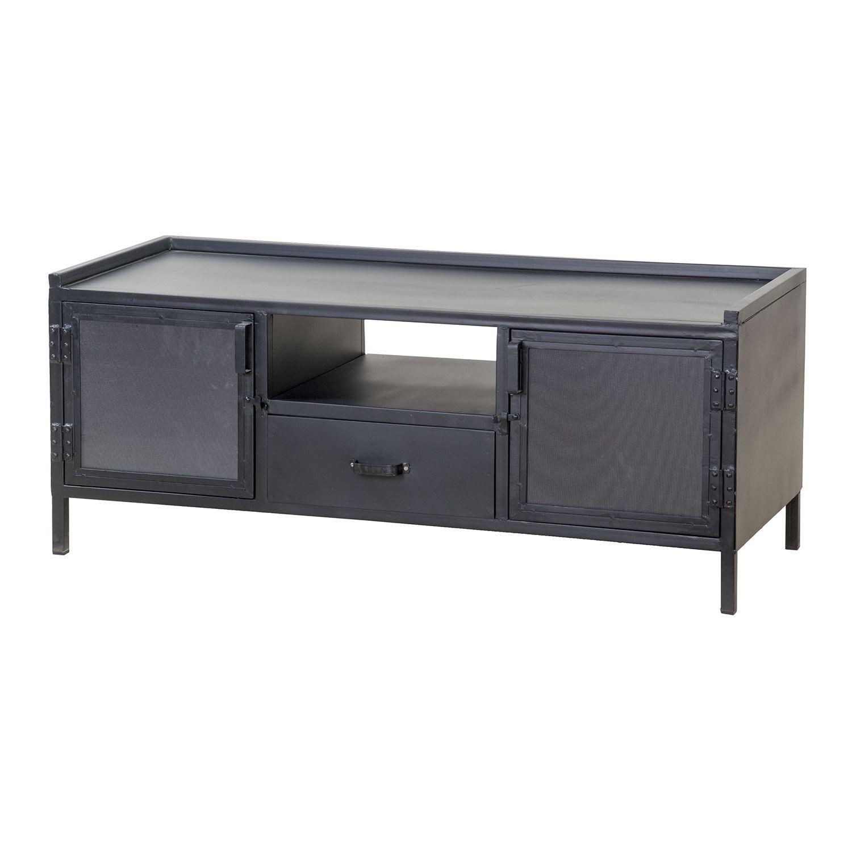 Industrieel TV meubel Eleonora 2-deurs