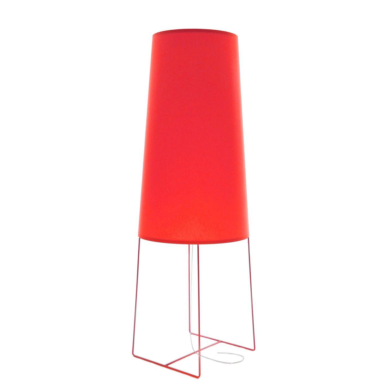 FatSophie vloerlamp FrauMaier rood