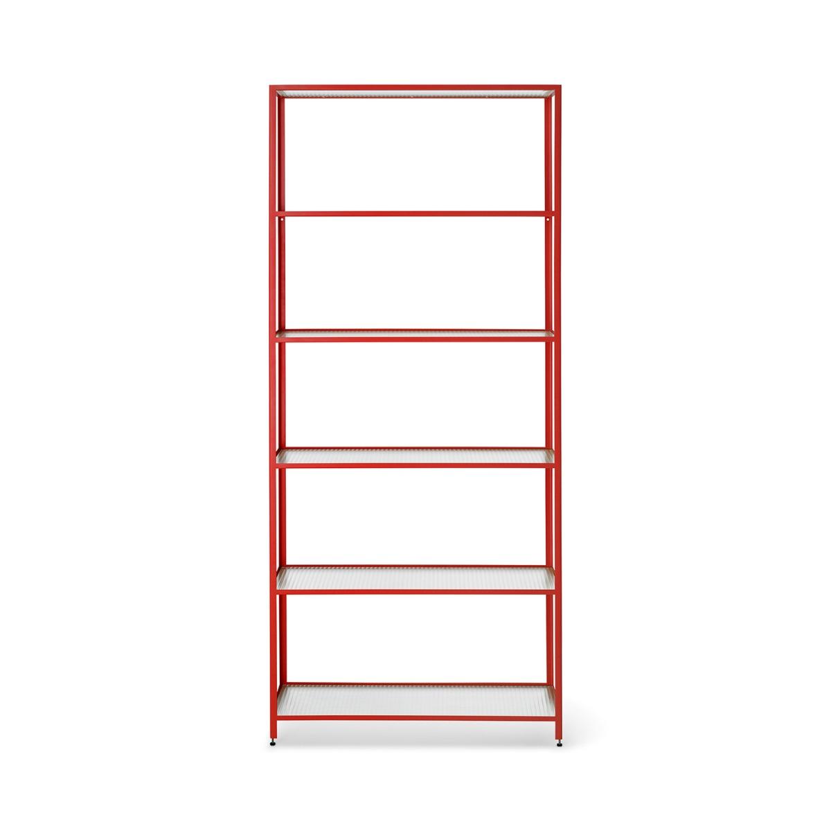 Haze boekenkast Ferm Living - Rood