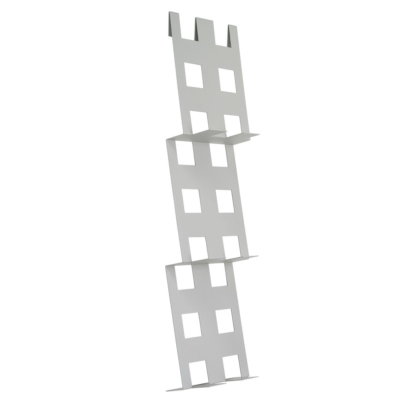 Foldr tijdschriftenrek Van Esch metallic grijs