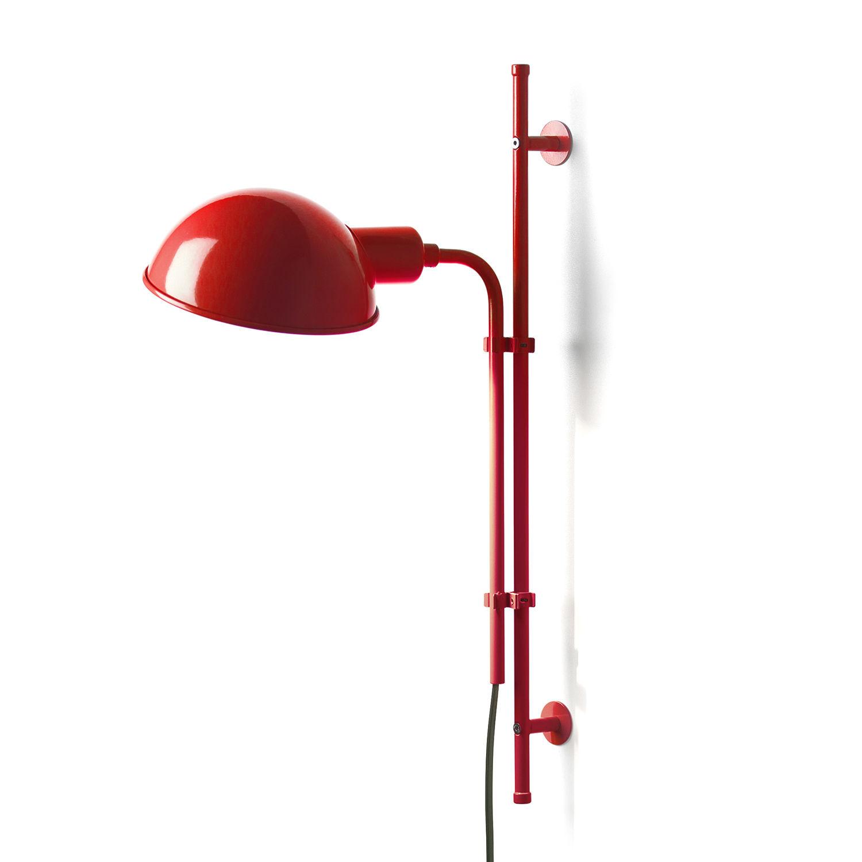 Funiculí wandlamp Marset rood