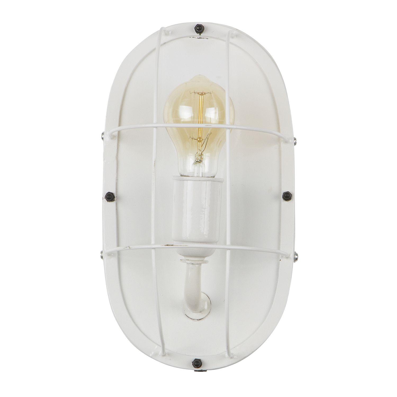 Gabber wandlamp Woood wit