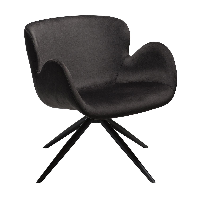 Gaia fauteuil Dan-Form zwart