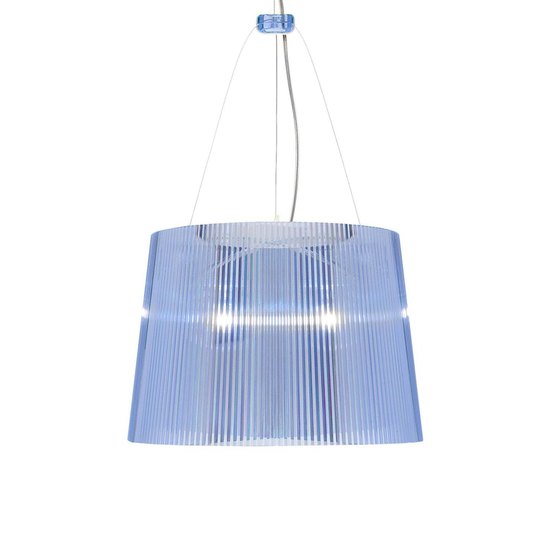 G� hanglamp Kartell transparant blauw