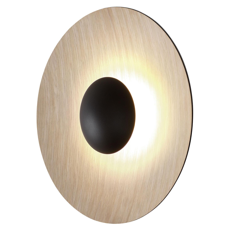 Ginger 60 wandlamp Marset rond - eiken
