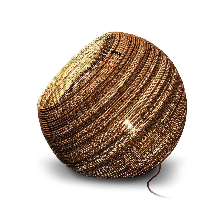Globe vloerlamp Think Paper Ø44 inclusief dimmer