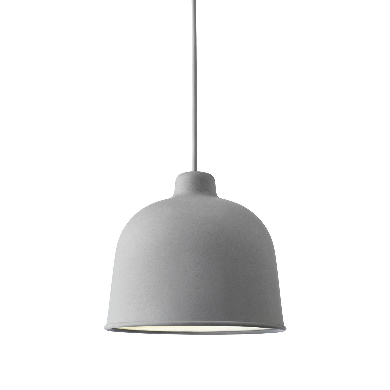 Grain hanglamp Muuto grijs