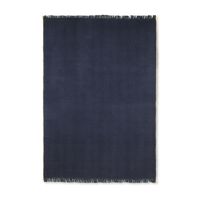 Herringbone plaid Ferm Living donkerblauw