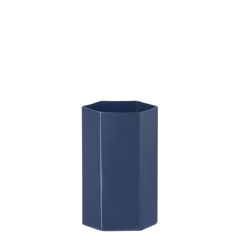 OP = OP - Hexagon vaas Ferm Living blauw