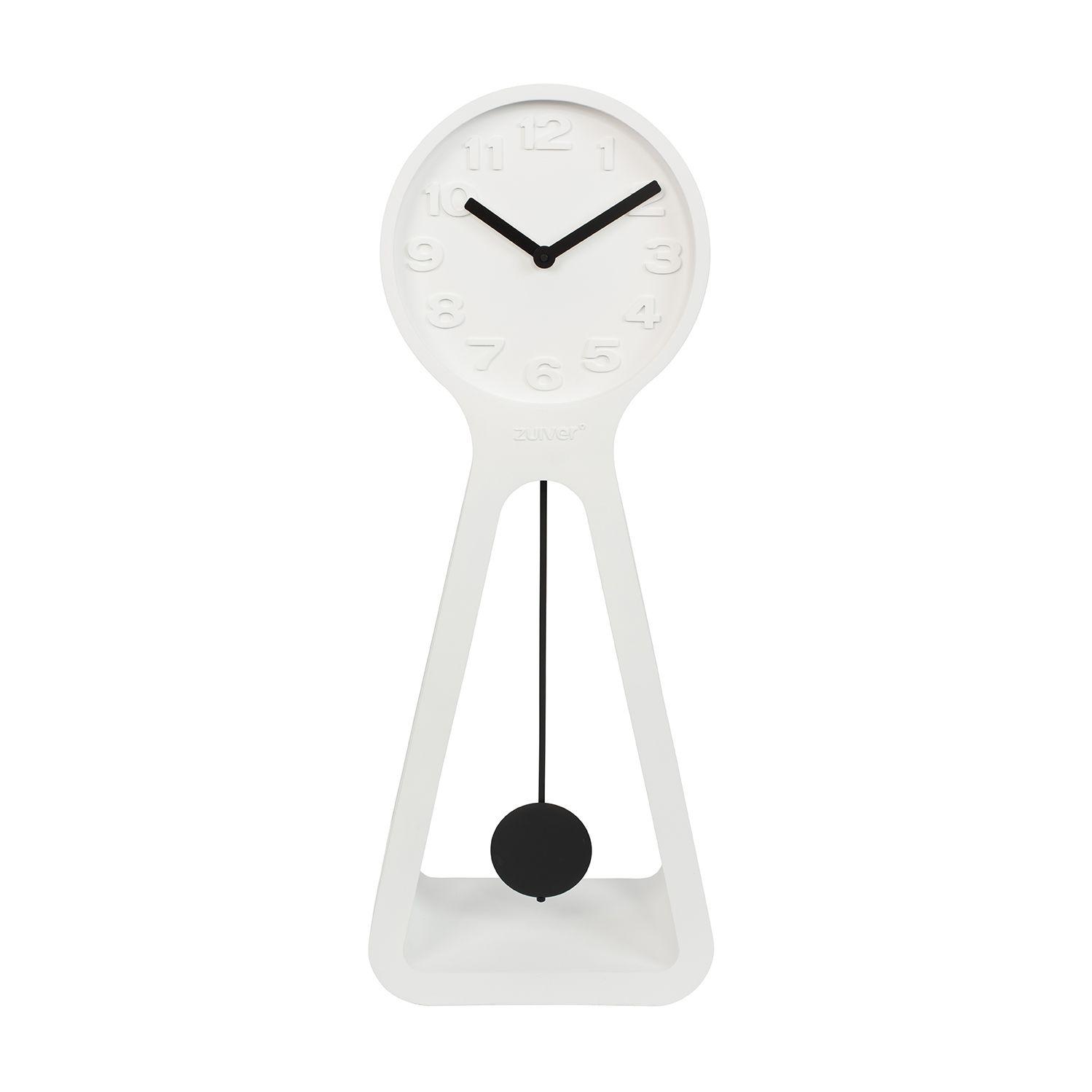 Humongous staande klok Zuiver wit