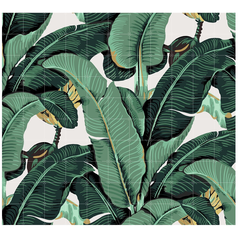 OP = OP - Banana Leaf wanddecoratie Ixxi 200x220cm