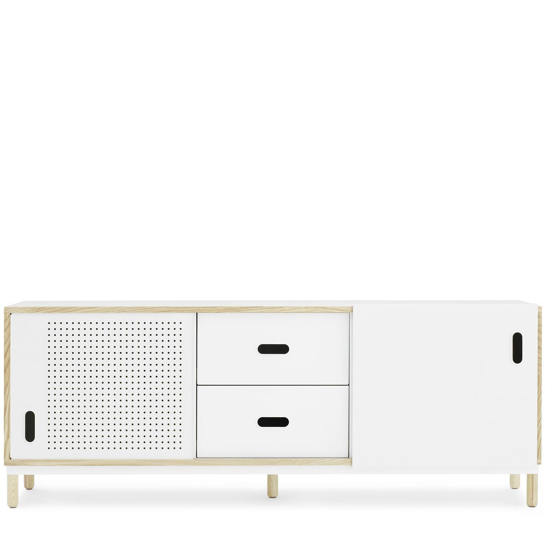 Kabino dressoir Normann Copenhagen 2 lades wit