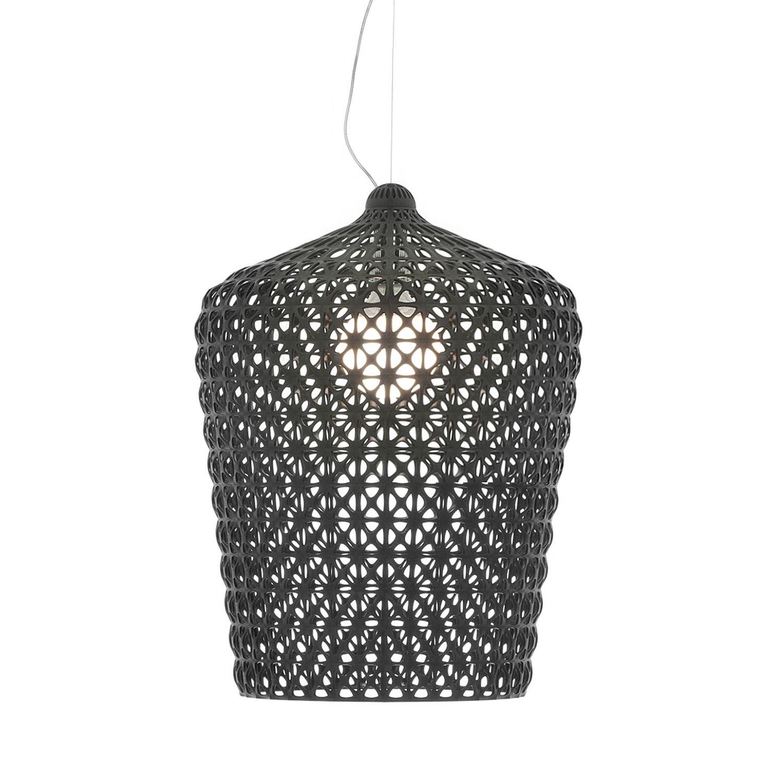 Kabuki hanglamp Kartell zwart