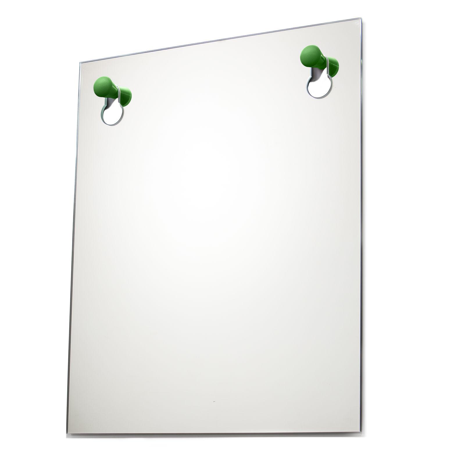 Knobble spiegel Goods groen groot