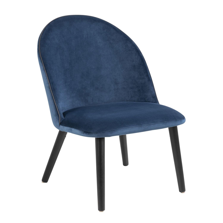 Koncupt fauteuil Liv navy blue