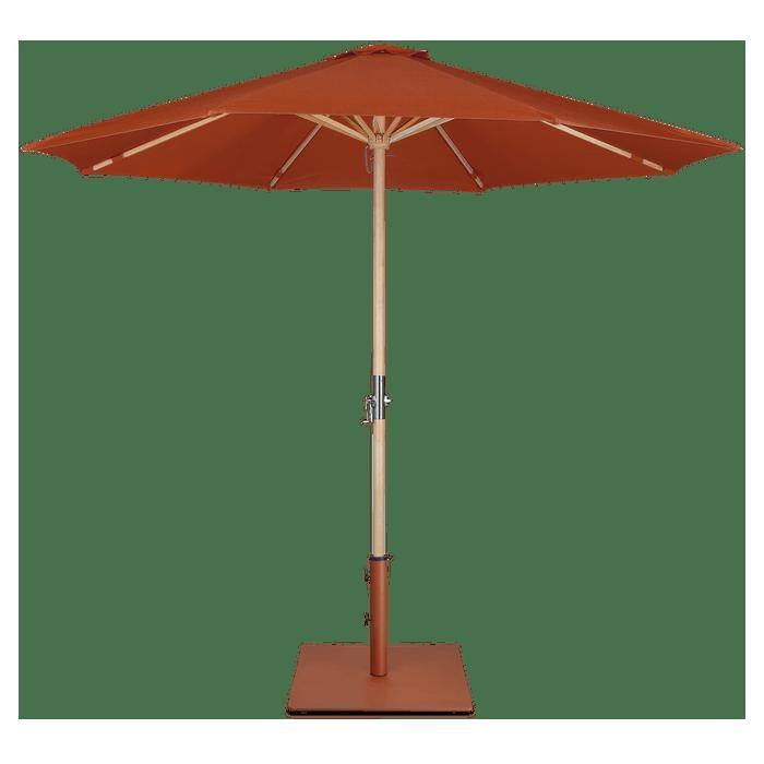 Lucas parasol + Tygo voet Lanterfant - SET - Terracotta