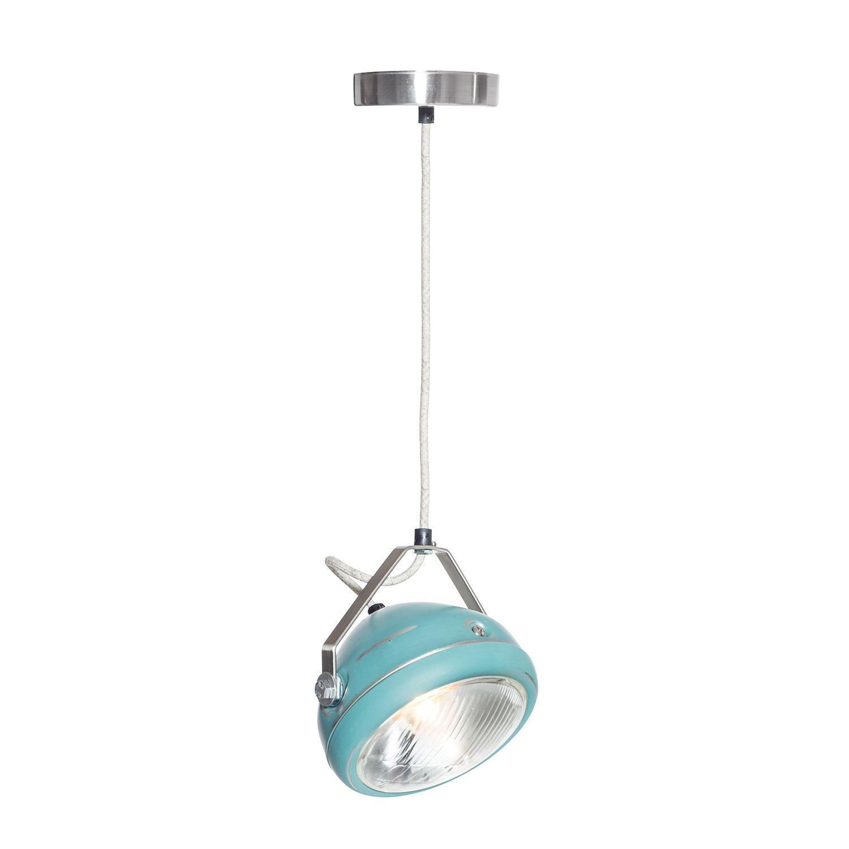 No.5 hanglamp Het Lichtlab aqua