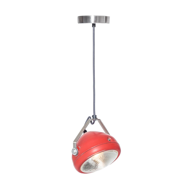 No.5 hanglamp Het Lichtlab rood